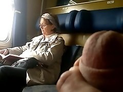 Train Penis demonstrate to Mature - with Cum