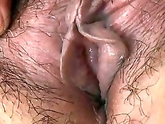 Japanese Granny flashes Tits and Cooch