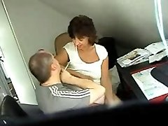 Hidden sex cam clip shows a couple fucking