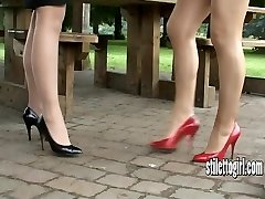 Showcase your enjoy of stiletto girls and appreciate their heels