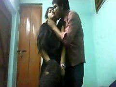 School schoolgirls lovers at home