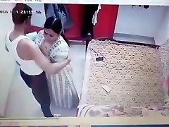 22 aunty hook-up affair captured by her nephew