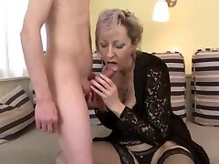 fuck-fest with milf in beautiful undergarments