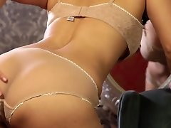 Utter of lust and passion brunette Sunny Leone gets rid of lingerie and masturbates