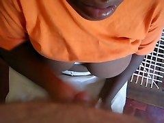 African Building Maid Arm Job