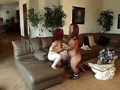 Horny midget duo fucking