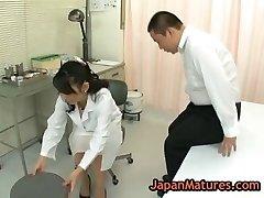 Nurse natsumi kitahara gets her cooch