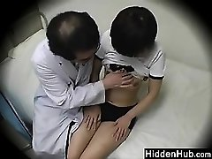 Doctor Ravaging Students In The Office
