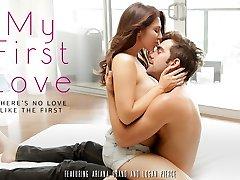 Ariana Grand & Logan Pierce in My First-ever Love Vid