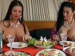 2 busty pierced whores having fun