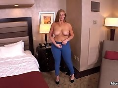 Ginger gets enormous ass fucked POV