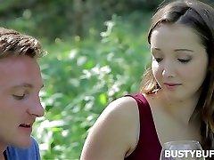 Romantic encounter with big-boobed buffy