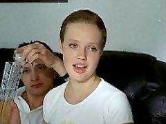 three russian boys deflower sobbing girl