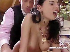 Promiscuous Maif Amanda Helps her Boss Loosen
