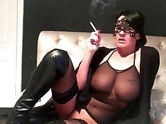 smoking cougar wifey