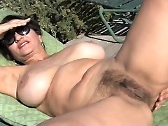Fabulous Cougar Persia Disrobing By TROC