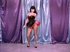 Vintage Stripper Film - B Page Teaserama clamp 2