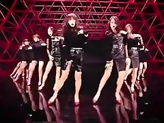 red-hot Korean girls dance erotic