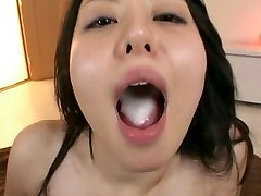 Ai Takeuchi guzzles man chowder