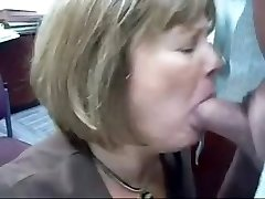 Mature Head #71 (2 vids of the Office Superslut doing her Job)