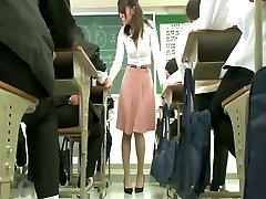 Remote hitachi under educator skirt