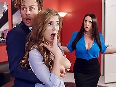 Angela White & Lena Paul & Michael Vegas in Pornography Logic - Brazzers