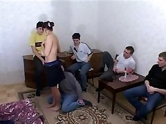Gross Neighbor Fucked by Young Dudes