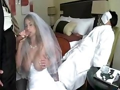 dude smash bride while grooms didn't awake