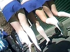Cheerleaders Underpants Upskirt