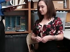 Shoplyfter - Slutty Teen Tried To Break Away Gets Boned Instead