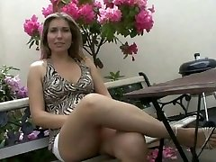 Damsel Milf fucked by two Construction Workers