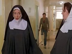 Nuns bound up and unwrapped by cops!
