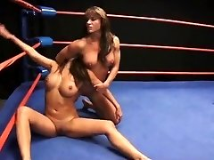 Brown-haired Wrestling Showdown