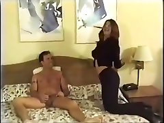 Amateur man fucks super-cute crossdresser