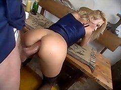 Nice blonde Camilla Krabbe prefers ass-fuck