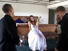 Two Men Getting Humped One Cute Bride,By Blondelover.
