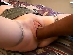 Sex-positive wife   with fist, pipe and cucumber
