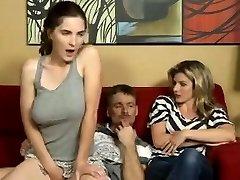 Dad Fucks not Masturbating Daughter-daddi