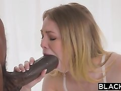 BLACKED Petite blonde with the thickest big black cock in the world