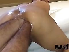Double anal going knuckle deep extreme amateur Latina
