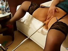 Hot Wife Fucking Machine LOUD Orgasms