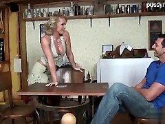 Hot slut sex in public