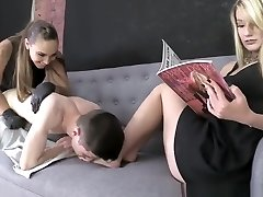 SASHA FOXXX & CHLOE - DANNI Leaned OVER AND Boinked FOR NOT FOLLOWING THE RULE