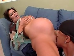 Nancy Vee - pregnant bi-racial anal