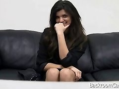 Anal audition couch penetration