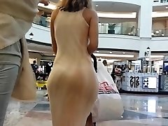 Candid big booty in sundress!!