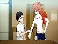 Teenage anime enjoys pussy licked