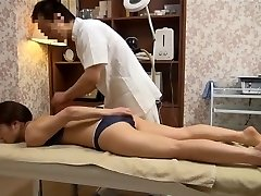 Sensitive Wifey Gets Pervy Massage (Censored JAV)