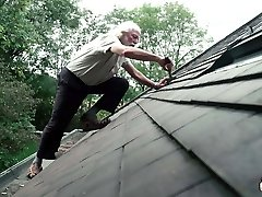 70 year senior grandpa fucks 18 year old girl shrieks and excited