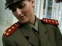 KGB Military Gal Fucks Recruit ...F70